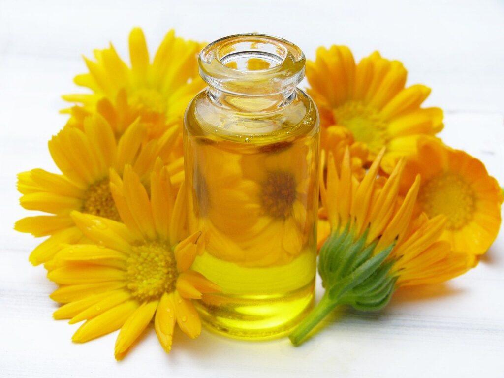 oil, vial, glass